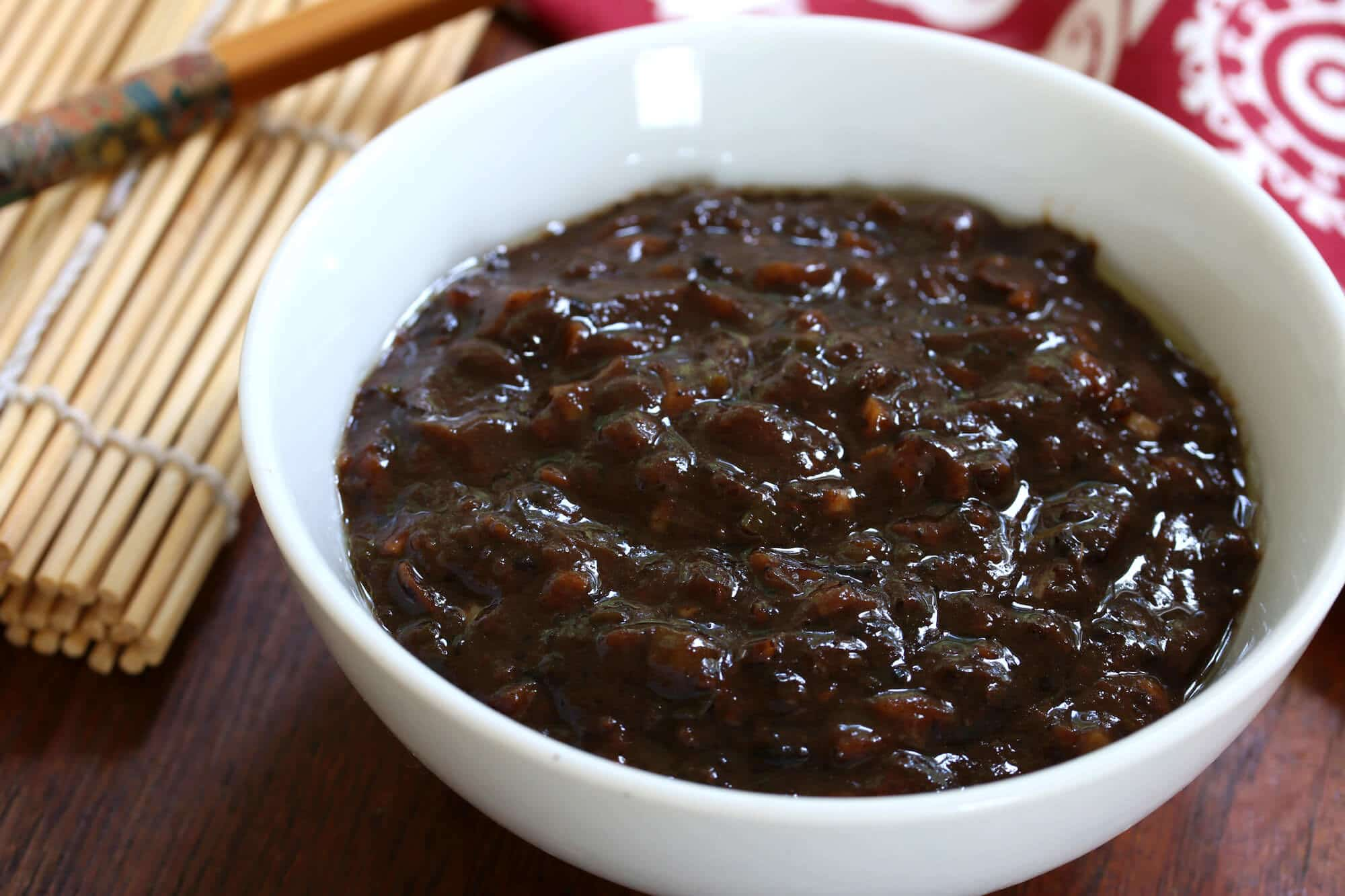 how to make homemade chinese black bean sauce paste garlic recipe asian