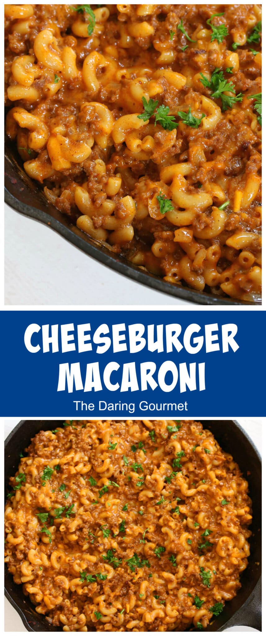 cheeseburger macaroni recipe homemade from scratch hamburger helper copycat healthy