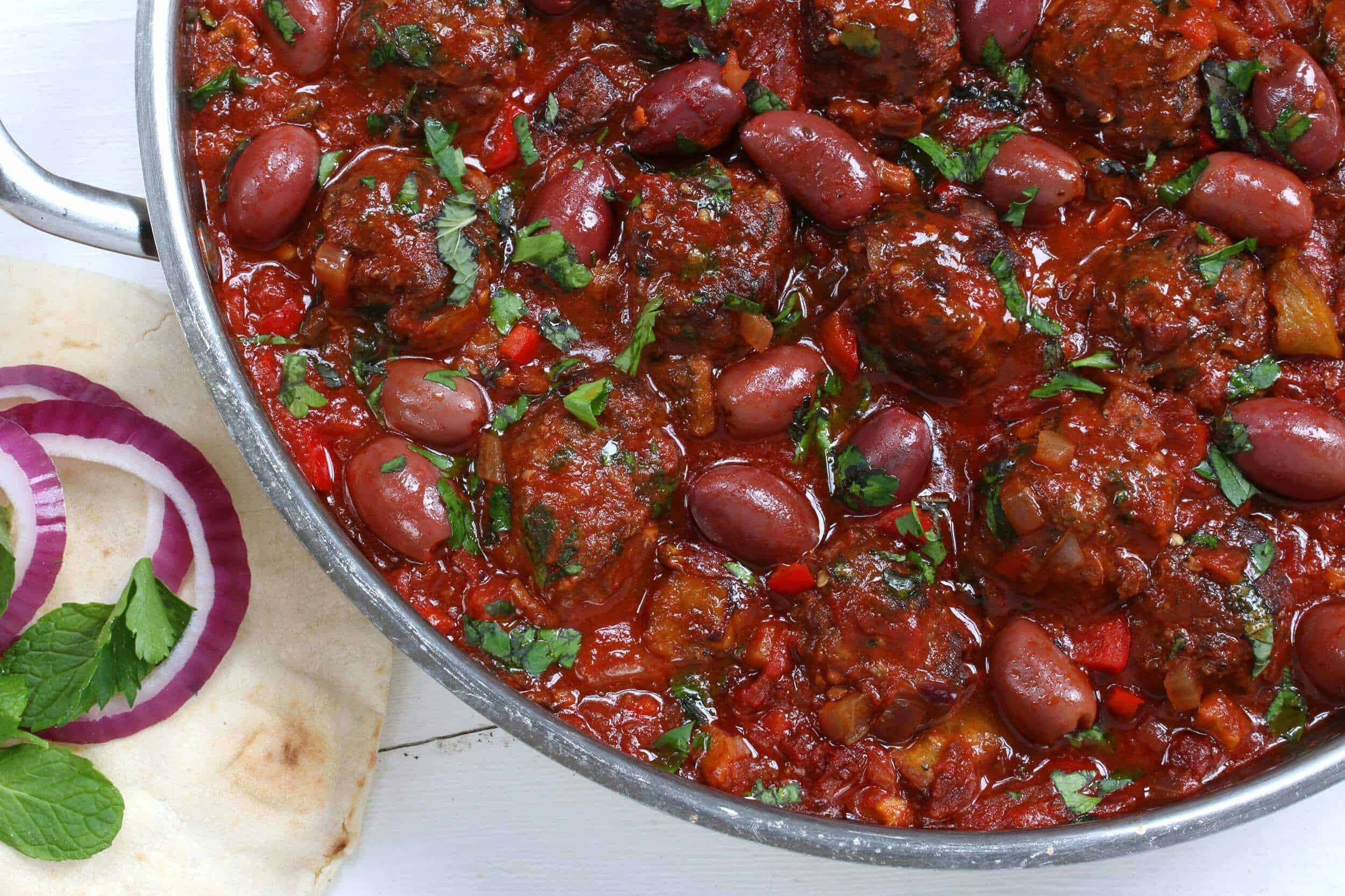 greek meatballs recipe beef chicken pork lamb turkey olives eggplant ...