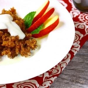 Apple Cinnamon Quinoa Cereal