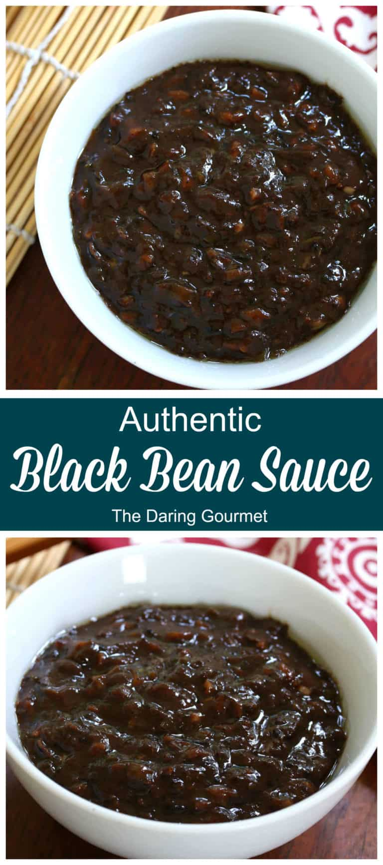 black bean sauce recipe authentic traditional Chinese Asian