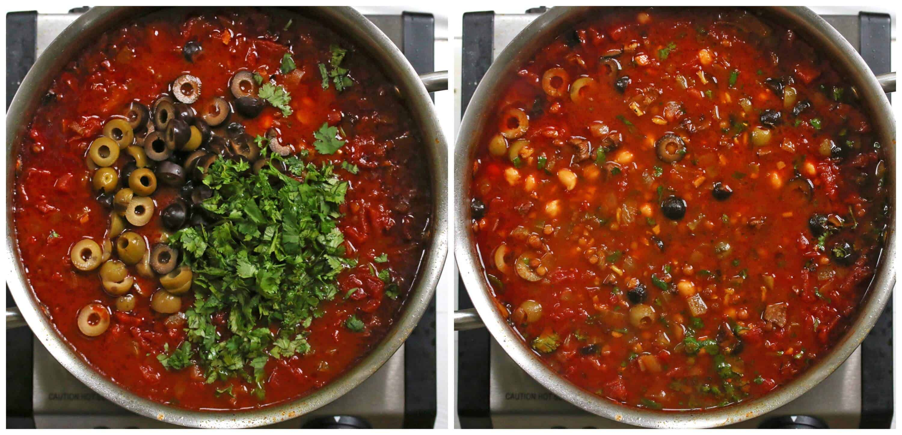how to cook lentils in broth