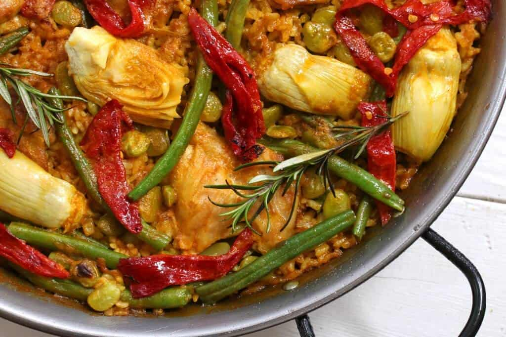 valencian paella recipe