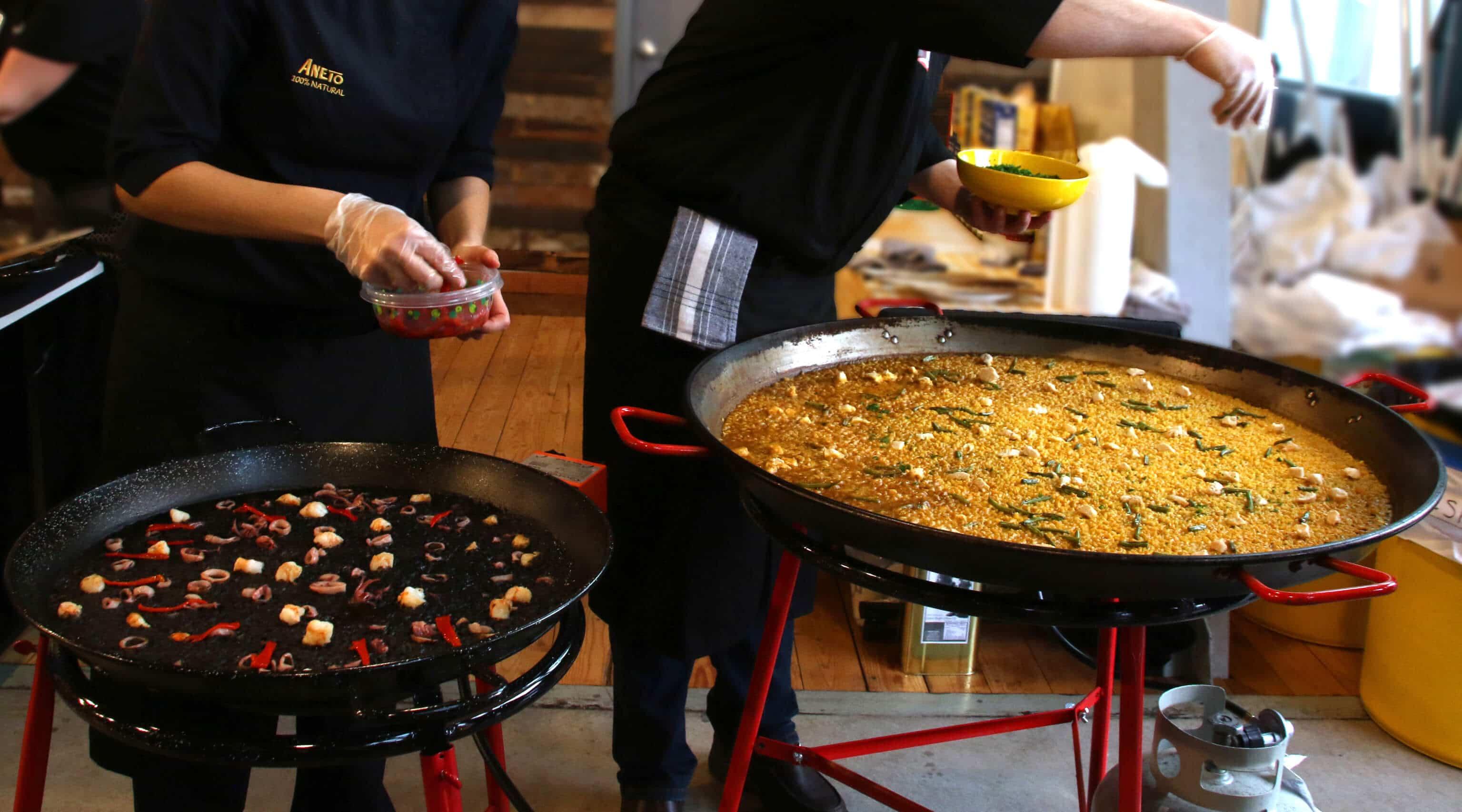how to make spanish paella valenciana recipe