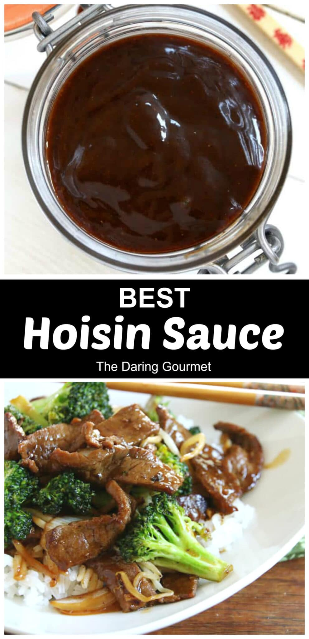 hoisin sauce recipe best homemade authentic traditional Chinese sauce