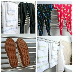 Bringing Vacation Home:  Towel Warmers