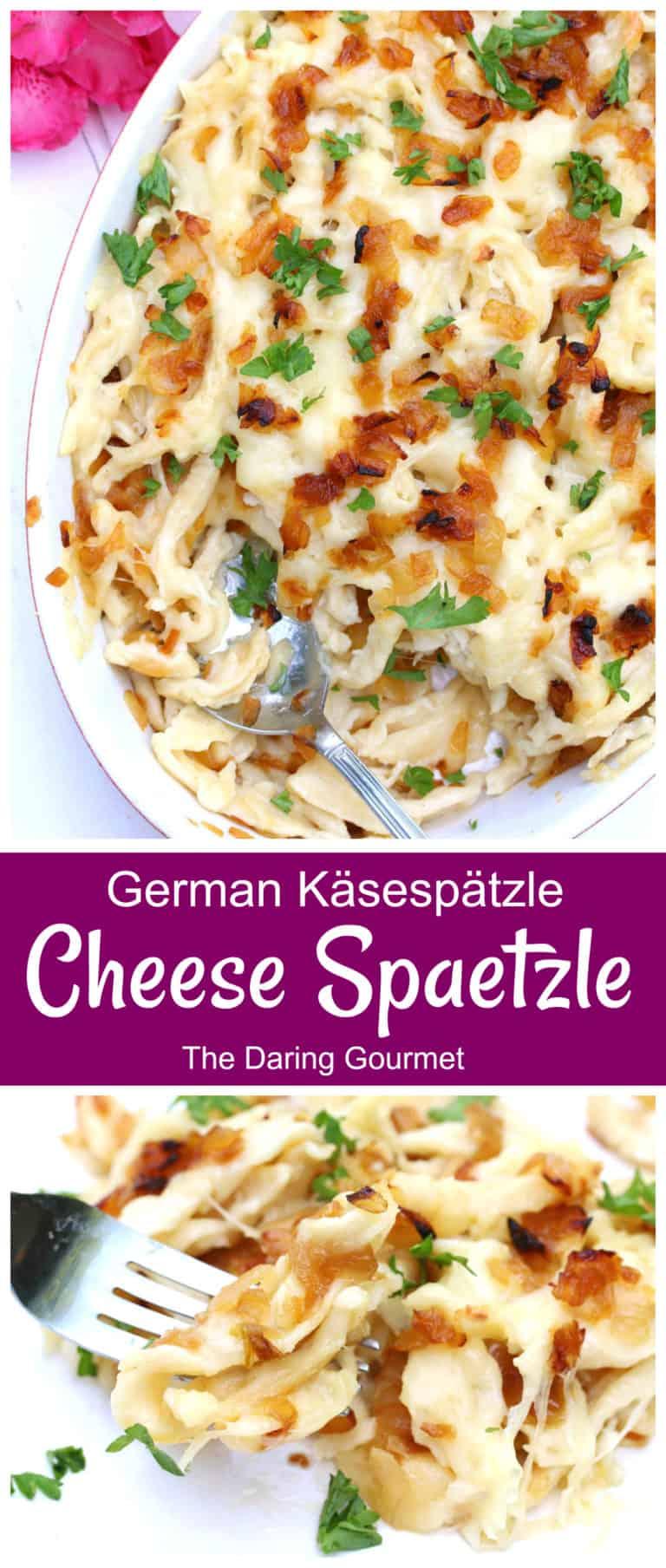 kasespatzle recipe authentic traditional cheese spaetzle