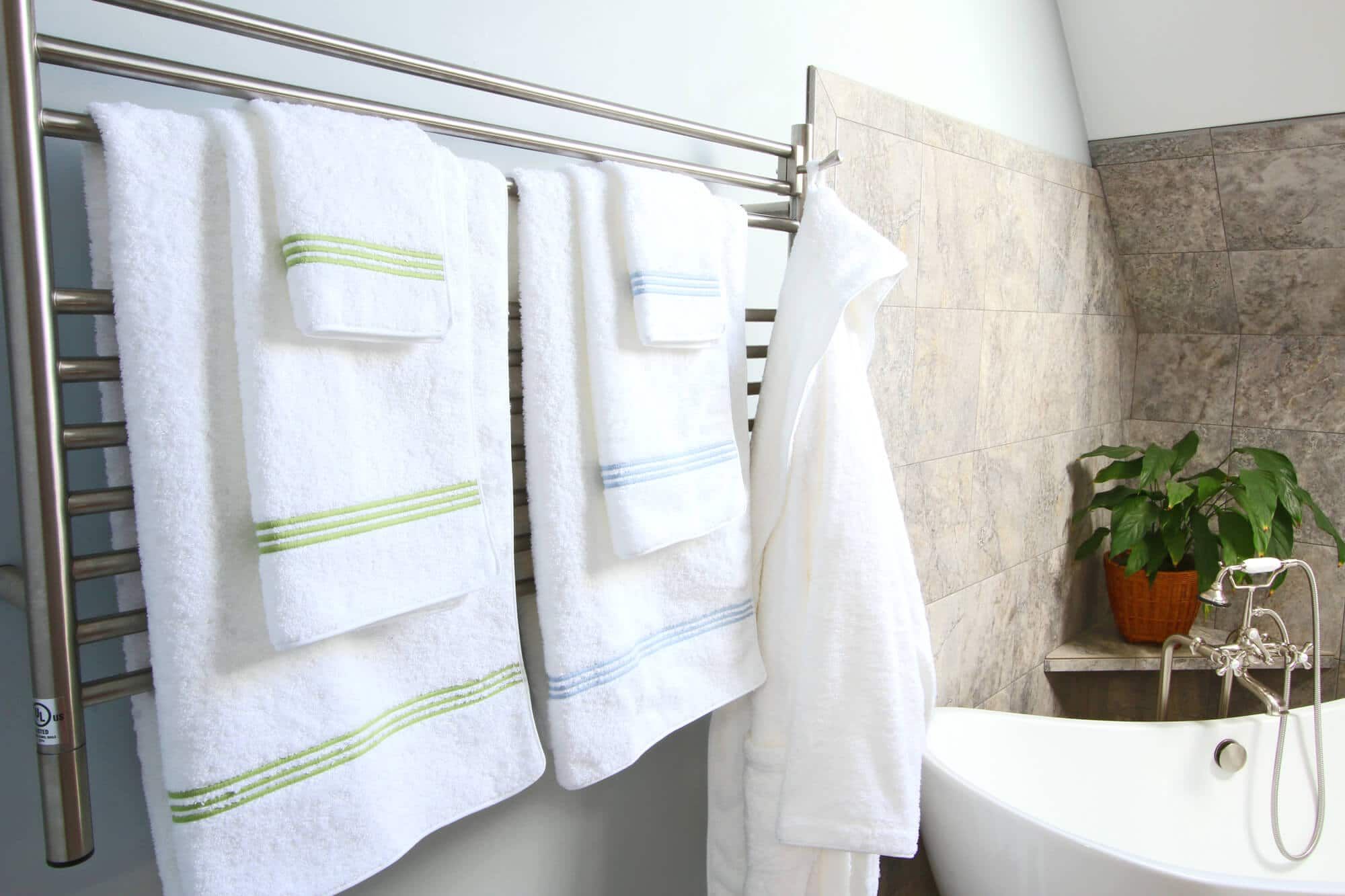 Bringing Vacation Home: Towel Warmers - The Daring Gourmet