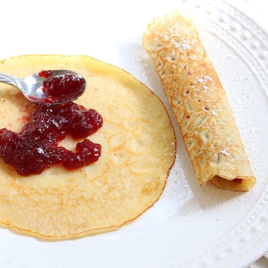 Versatile Crepes Recipe — Dishmaps