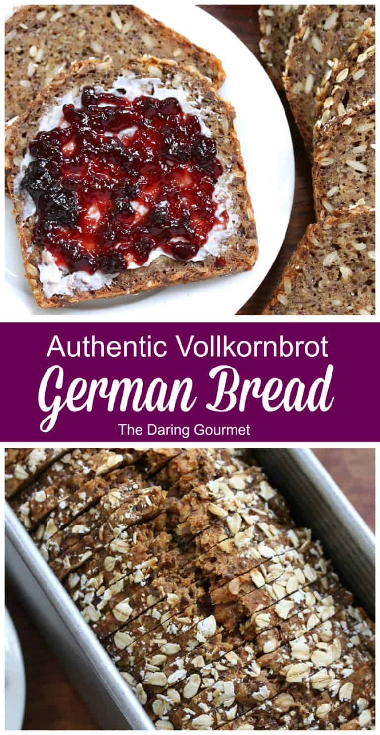 german bread recipe brown farmer authentic traditional whole wheat grain vollkornbrot rezept