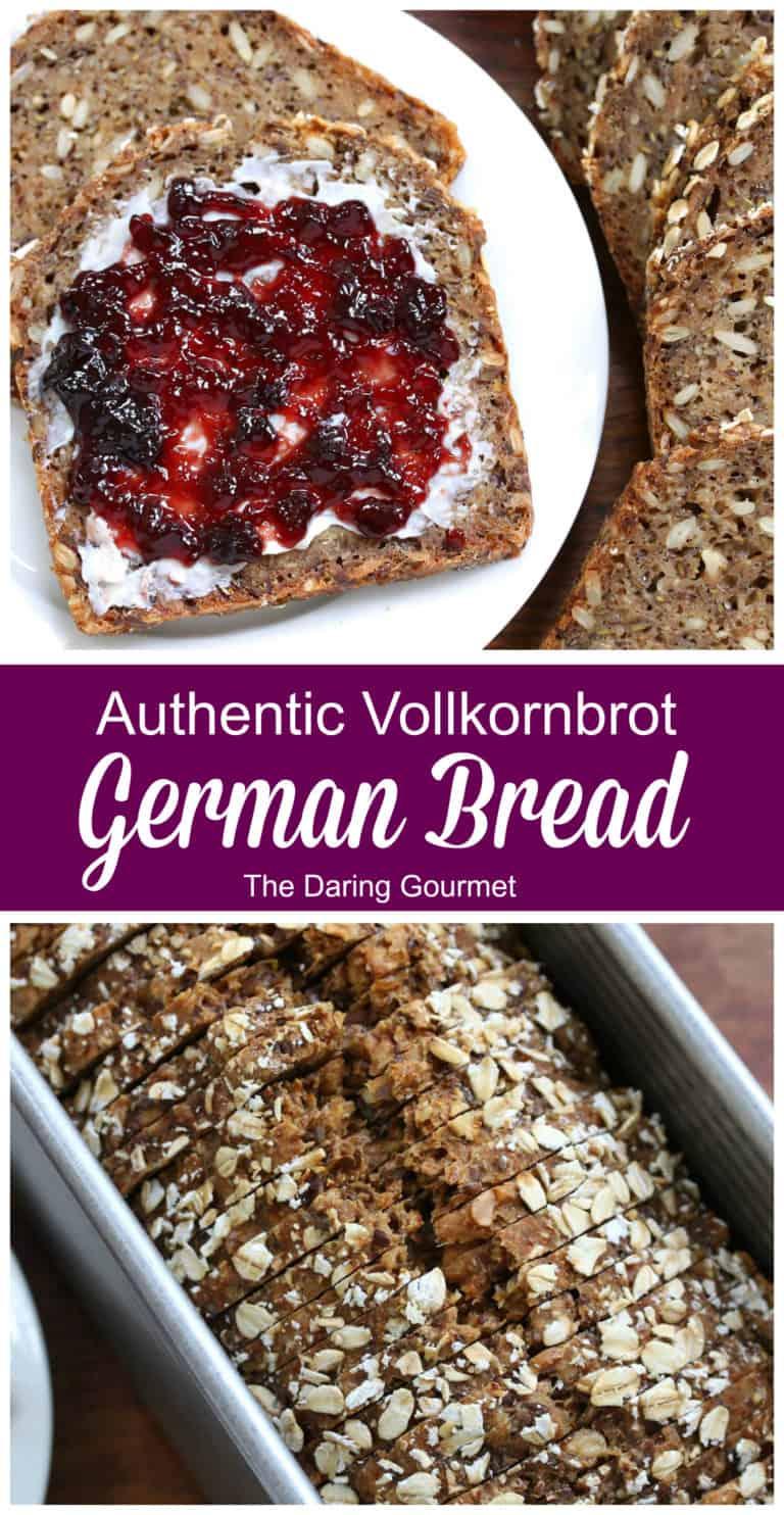 german bread recipe brown farmer authentic traditional whole wheat grain vollkornbrot rezept