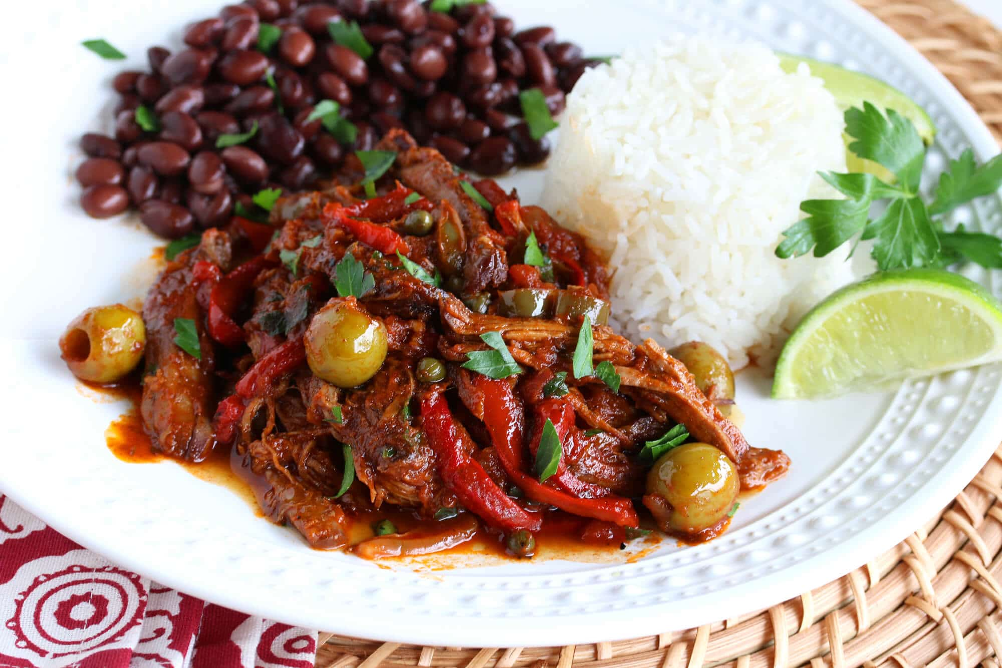 ropa vieja recipe best authentic traditional cuban beef peppers olives spanish
