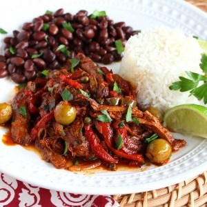 ropa vieja recipe best authentic traditional cuban spanish shredded beef peppers onions olives