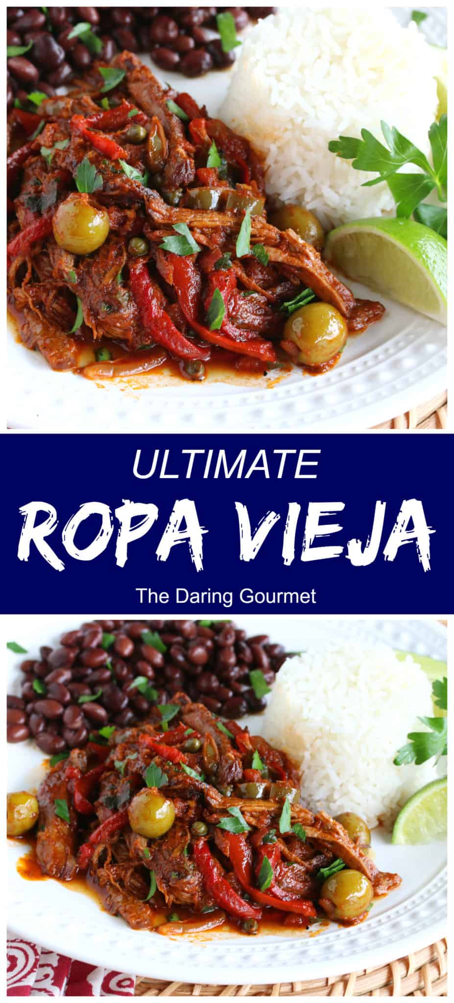ropa vieja recipe best authentic cuban shredded beef peppers onions olives