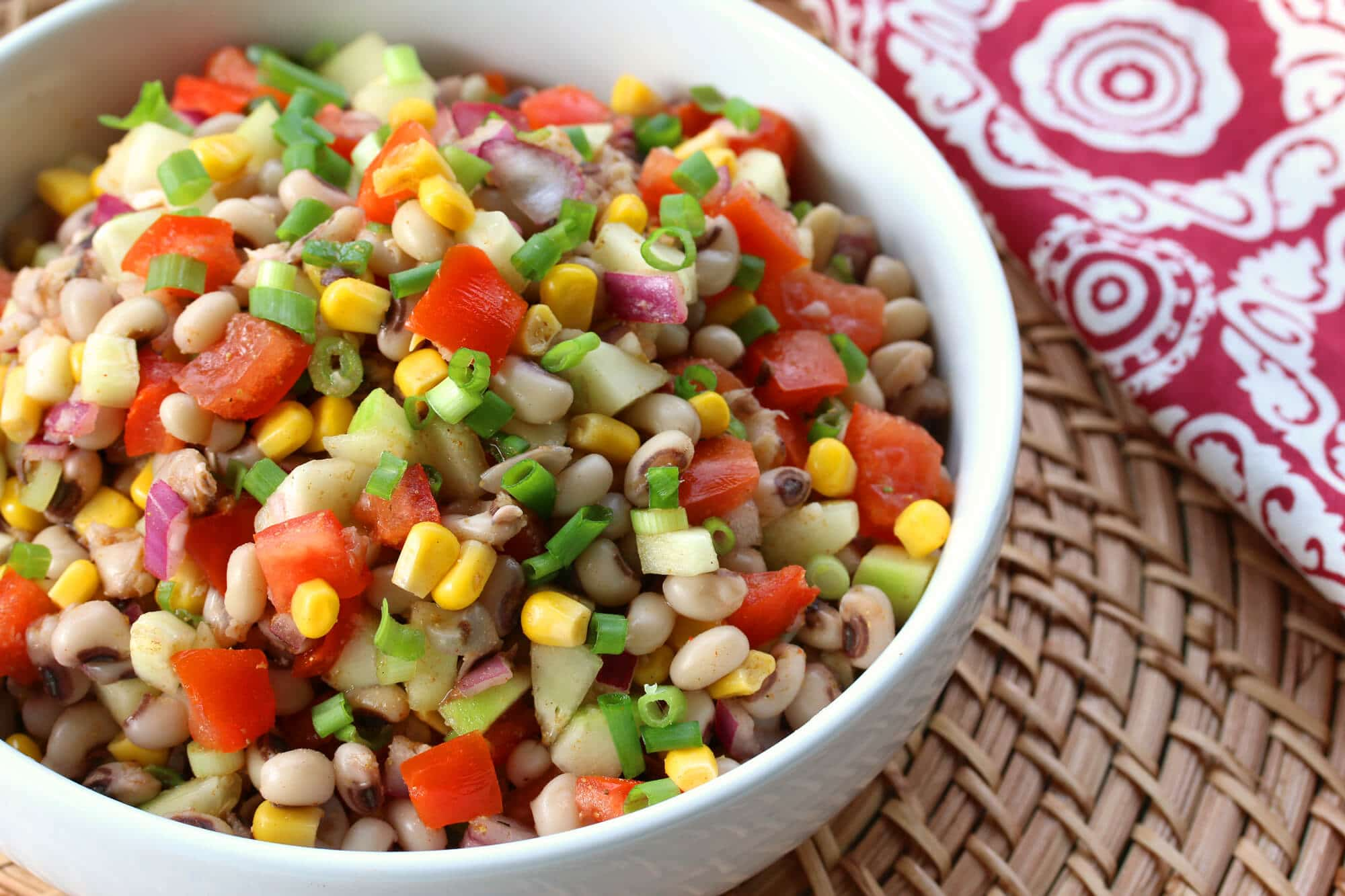 Southern black eyed pea salad or salsa the daring gourmet southern salsa 14 forumfinder Choice Image