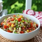 Southern Black-eyed Pea Salad (or Salsa)
