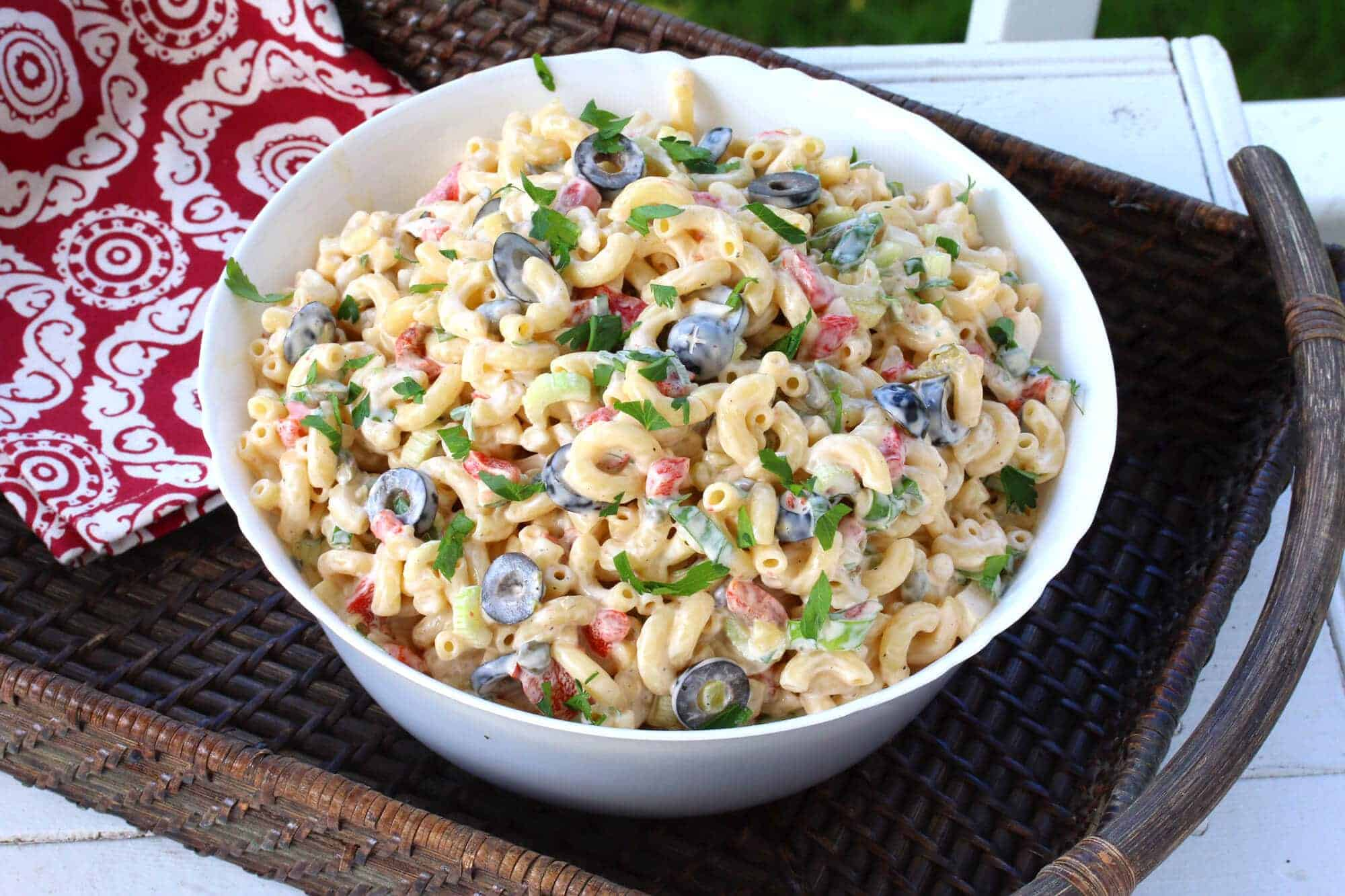 macaroni salad recipe best