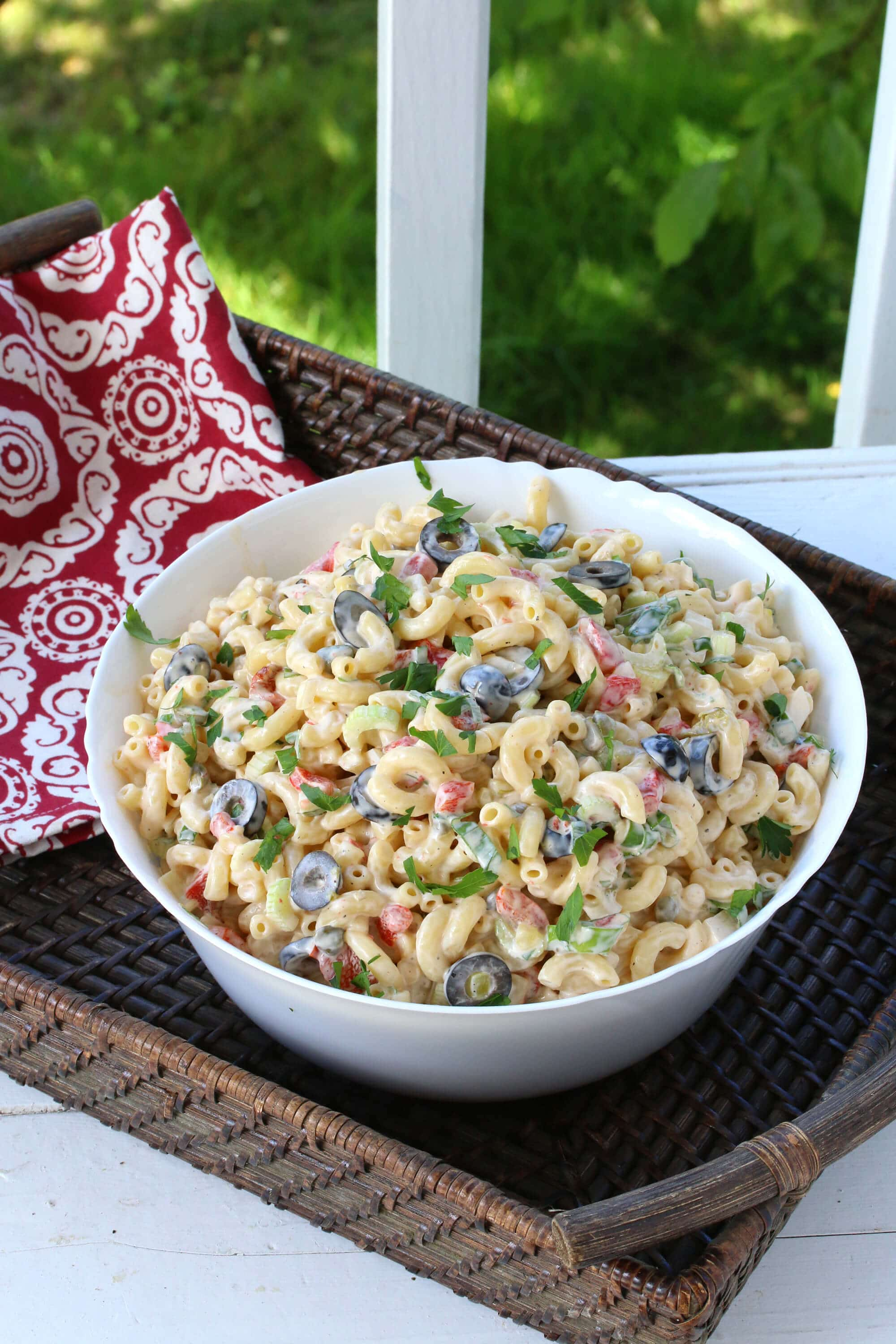 Best Macaroni Salad The Daring Gourmet