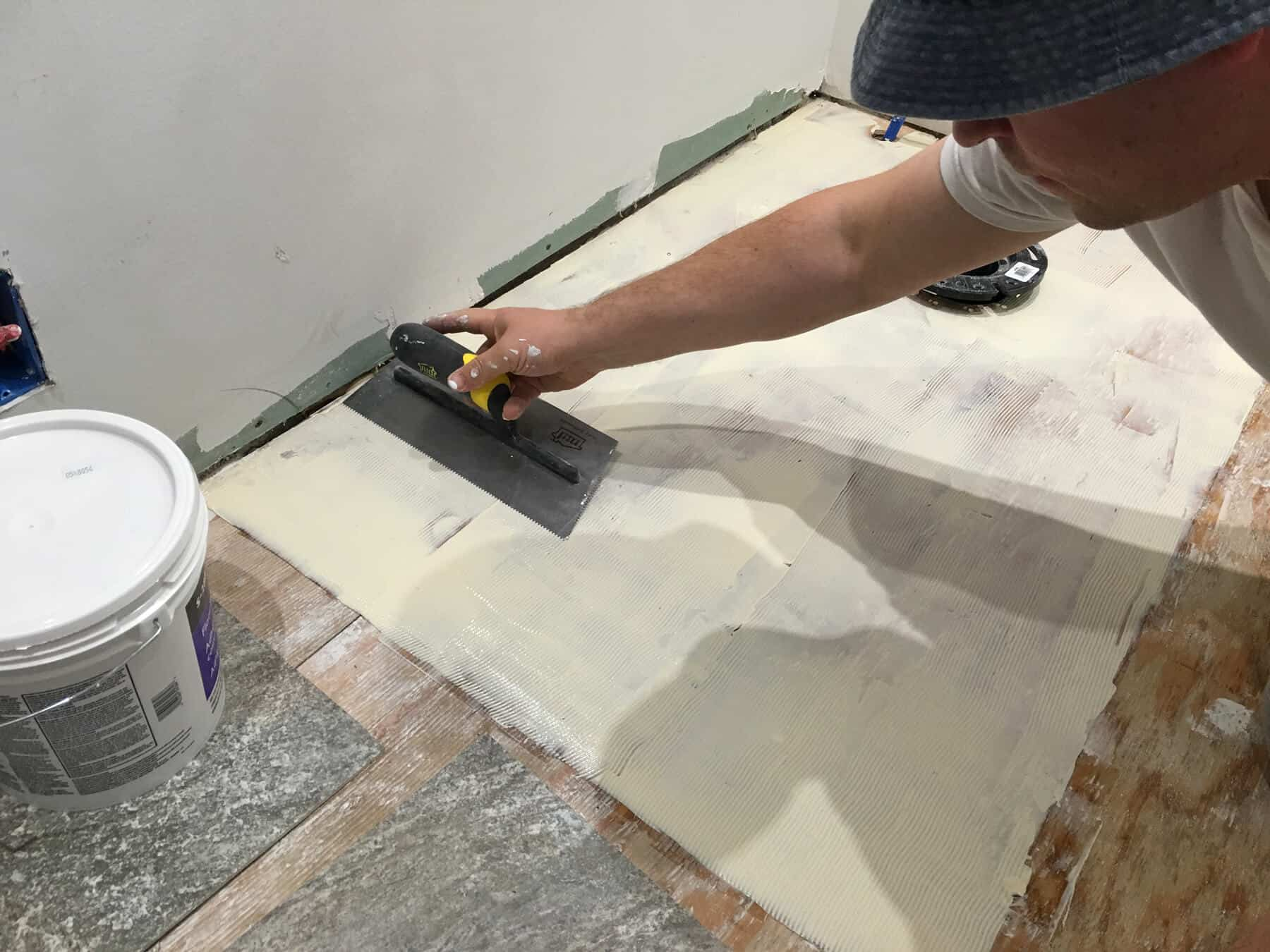 The Micro Dwelling Project Part 5 Flooring The Daring