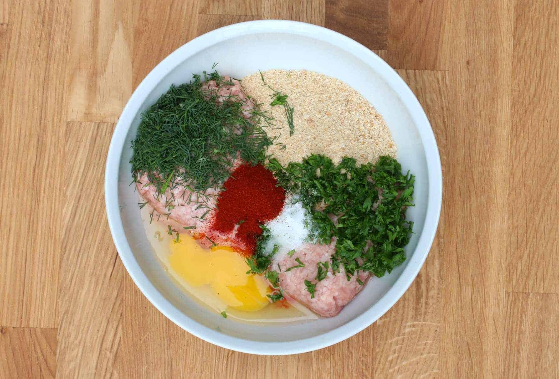 Hungarian meatballs the daring gourmet hungarian meatball new prep 1 forumfinder Choice Image