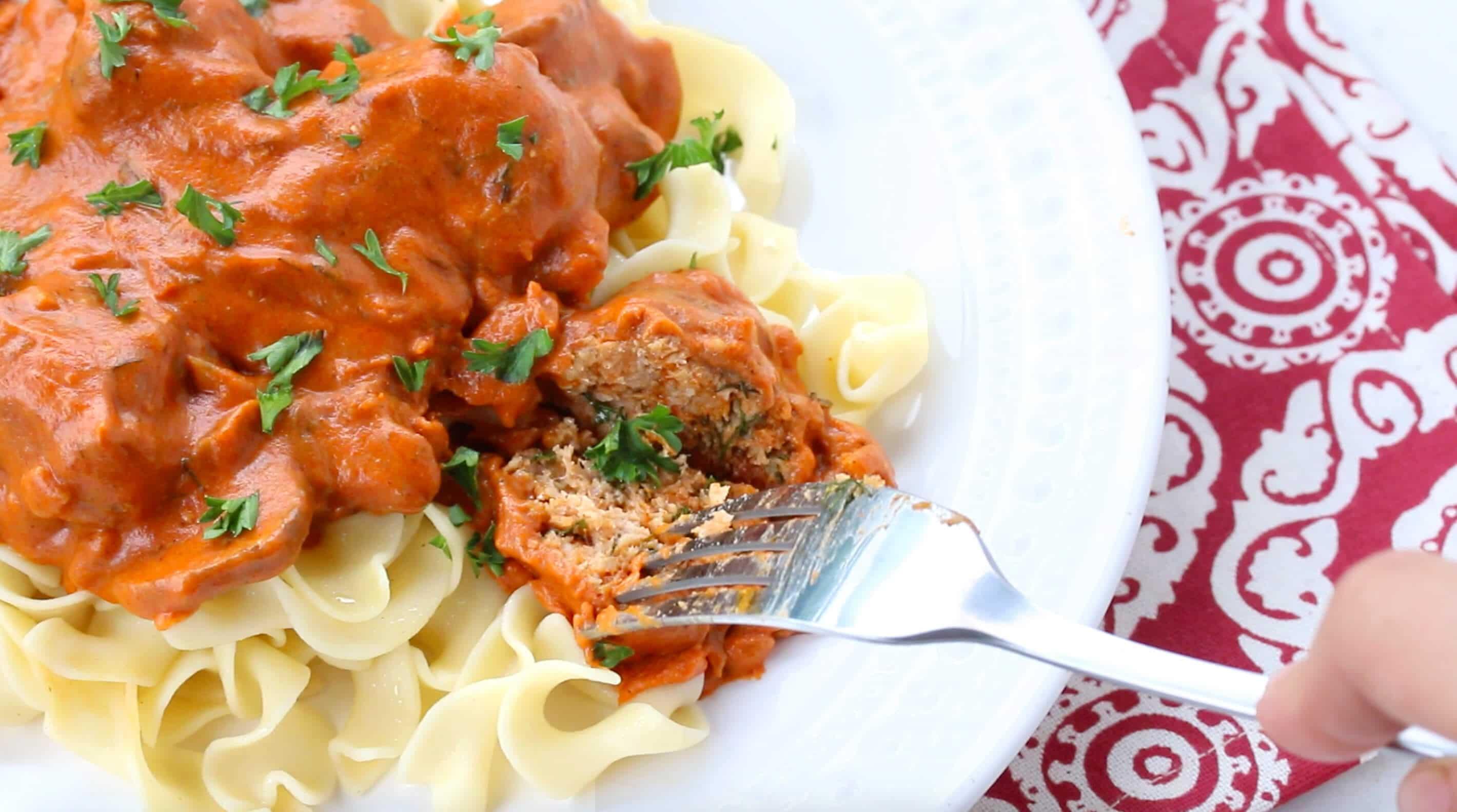 hungarian meatballs recipe creamy paprika sauce