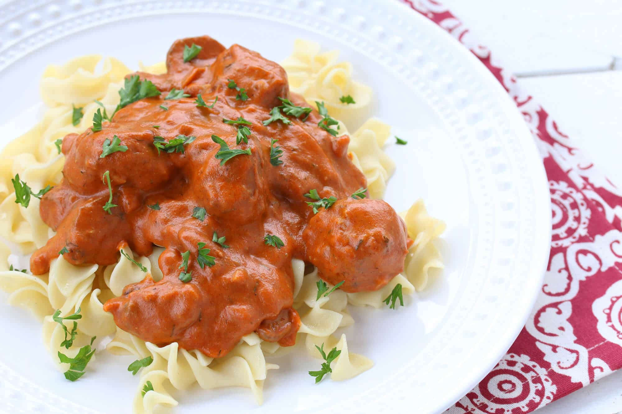 Hungarian Meatballs - The Daring Gourmet