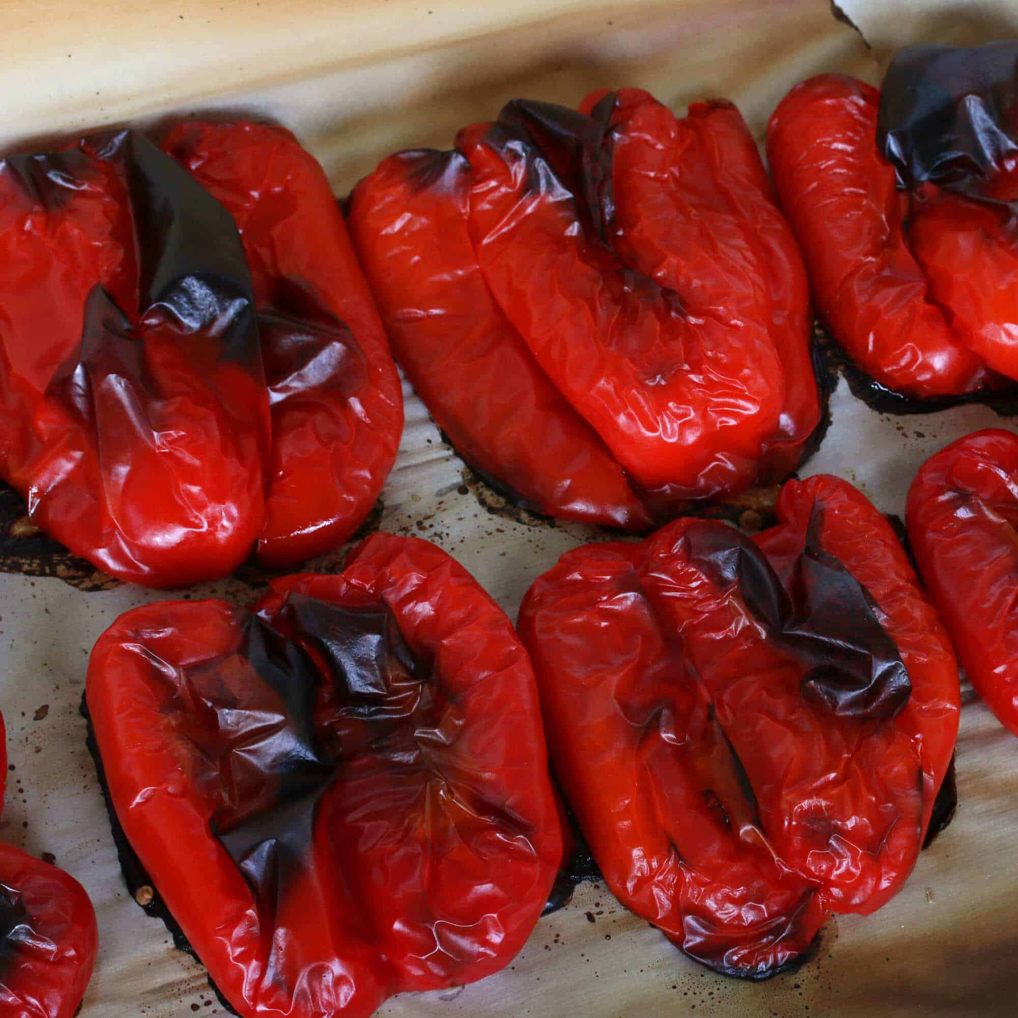 How to grill peppers on stove top