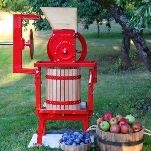 Maximizer Fruit & Apple Cider Press Review + How To Bottle & Preserve Fresh Apple Juice