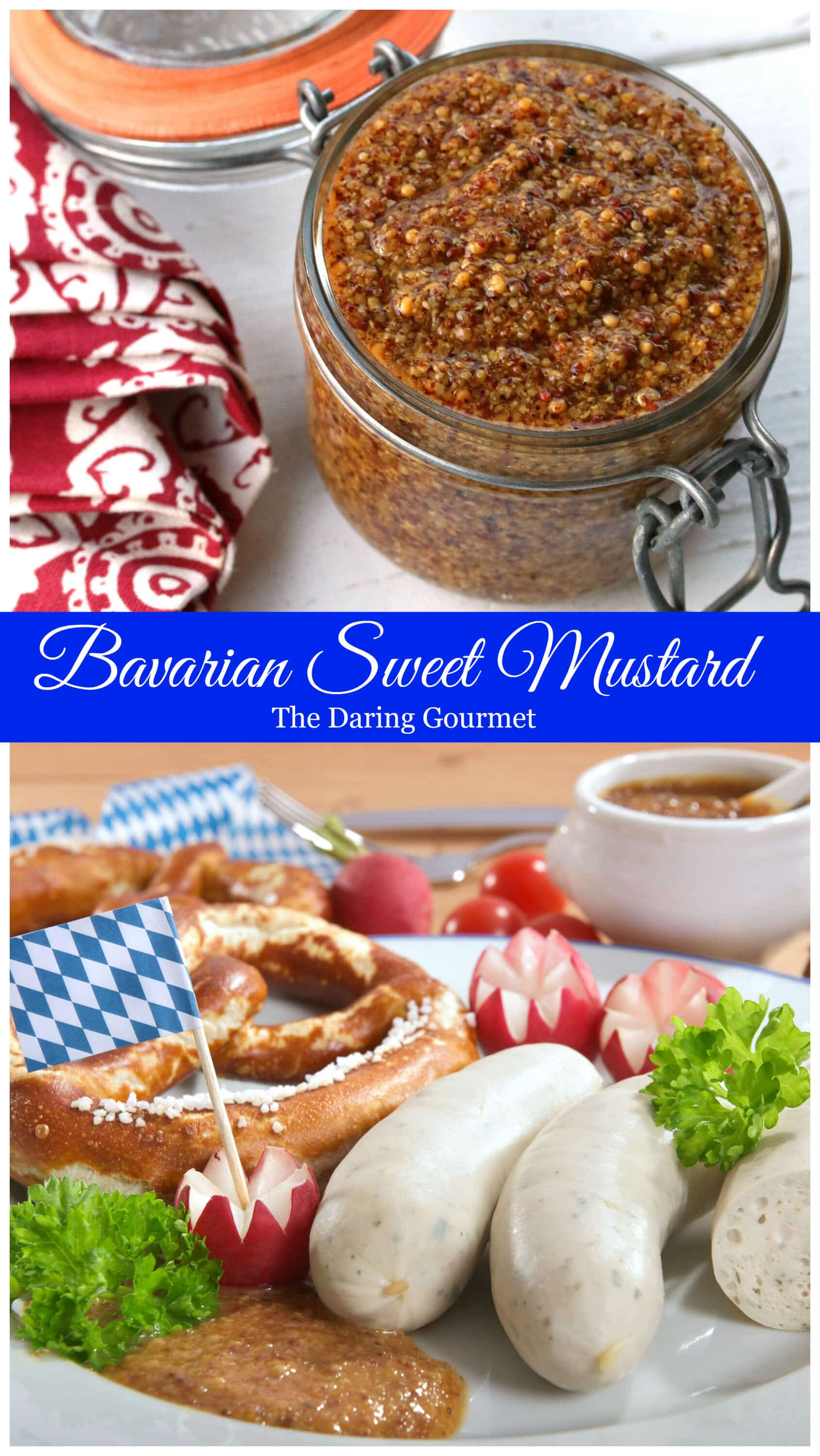 german mustard recipe bavarian sweet octoberfest traditional authentic weisswurst homemade