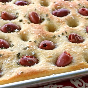 Olive Rosemary Focaccia (How To Make Authentic Focaccia)