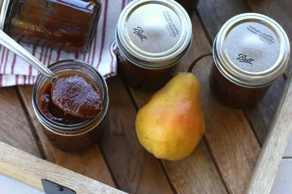 caramel pear butter recipe
