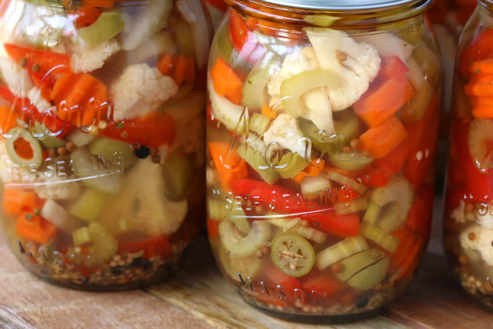 best homemade giardiniera hot or mild the daring gourmet