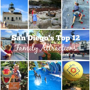 San Diego's Top 12 Family Attractions