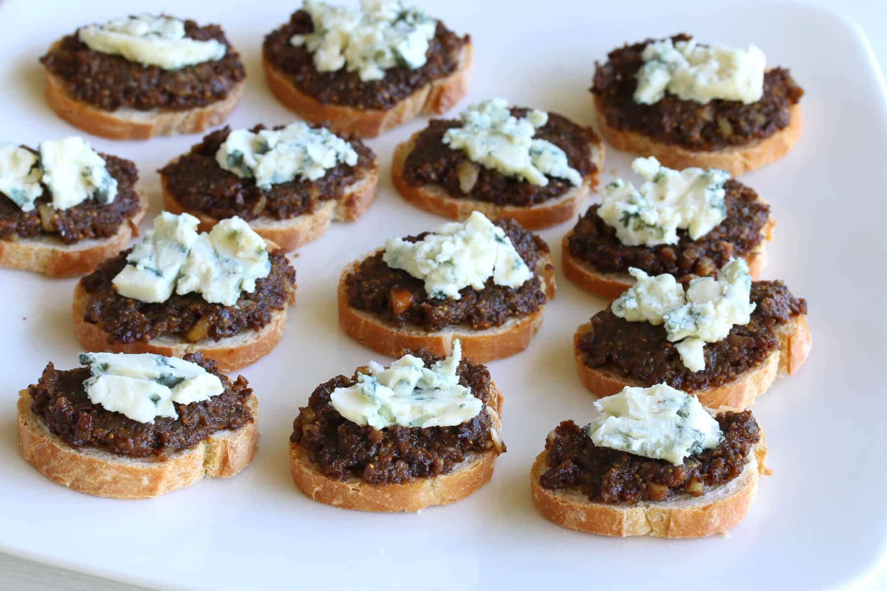 Black Olive & Fig Tapenade with Roquefort - The Daring Gourmet