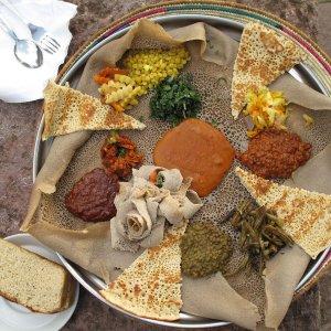 Authentic Injera (Ethiopian Flatbread)