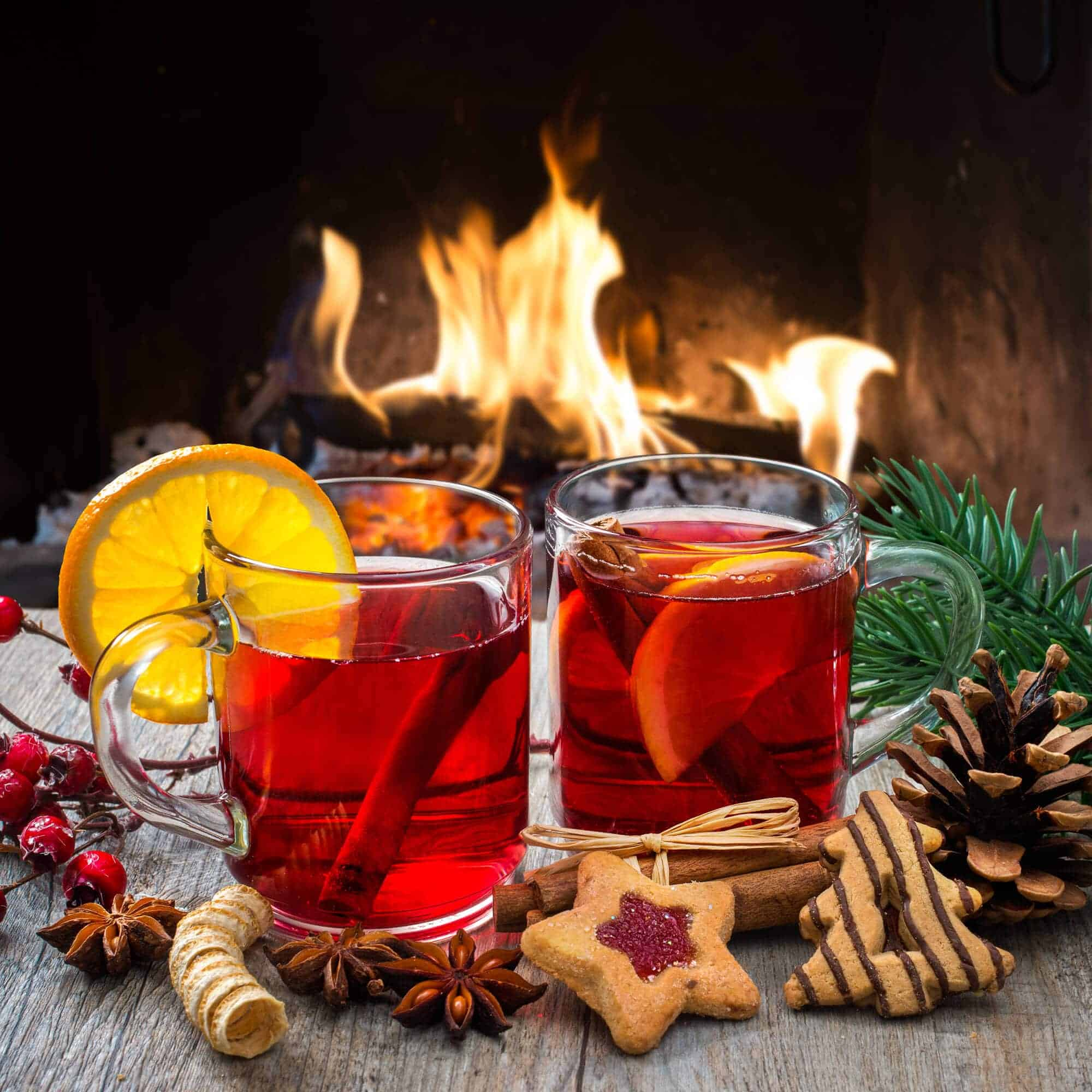 Kinderpunsch (German Non-Alcoholic Christmas Punch) - The Daring ...