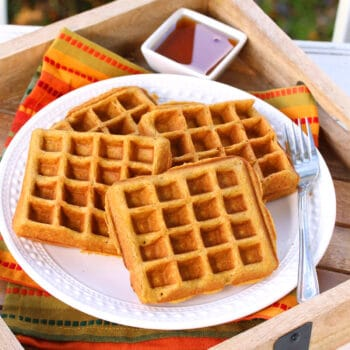 pumpkin waffles recipe gluten free whole grain oat