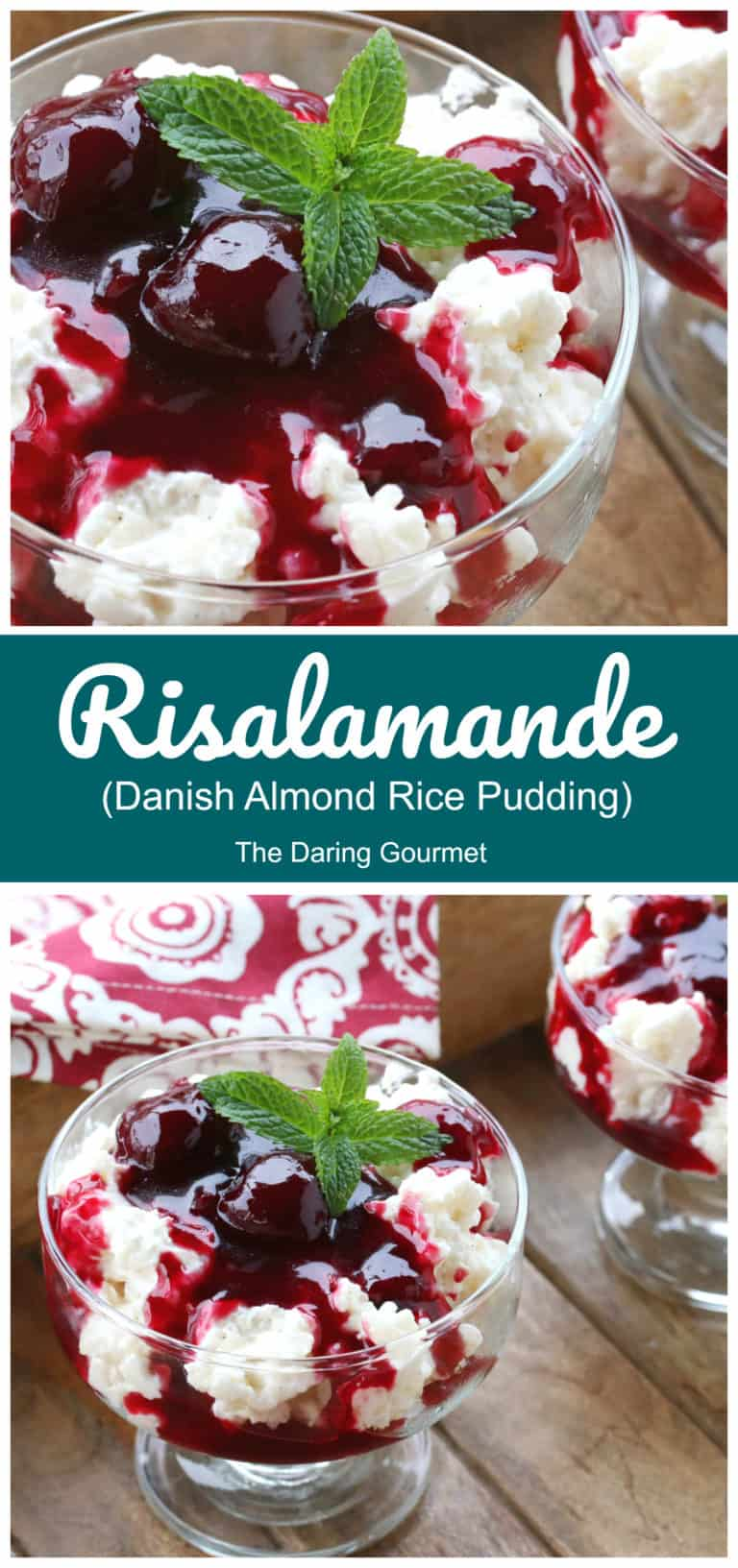 risalamande recipe danish rice pudding almond cherry