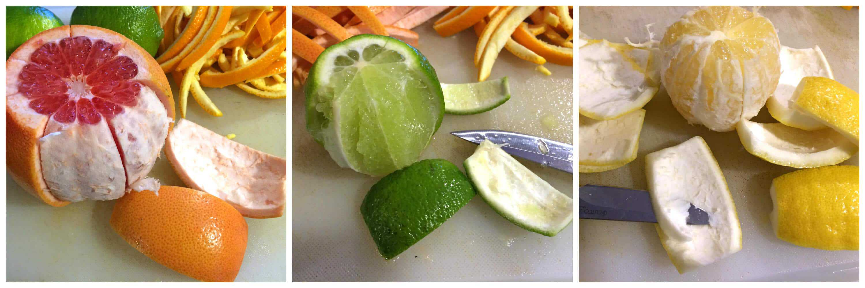 homemade candied orange peel lemon grapefruit lime citrus citron recipe how to make