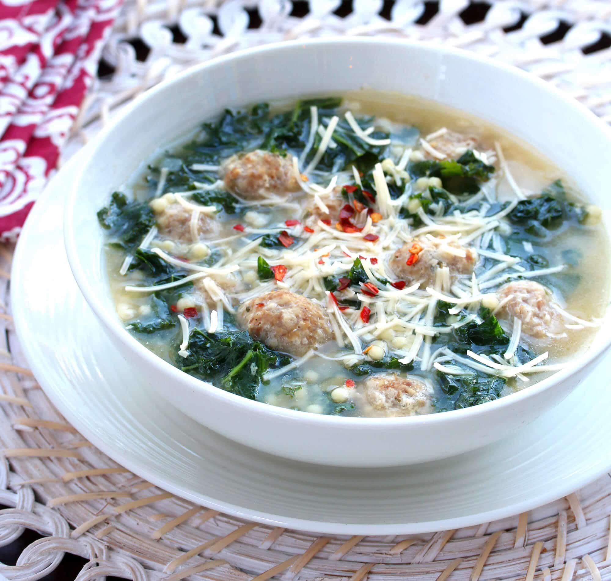 BEST Italian Wedding Soup