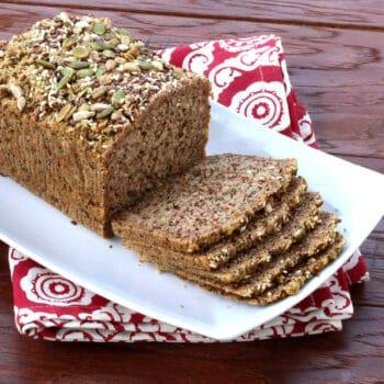 paleo bread recipe gluten free nut seed healthy