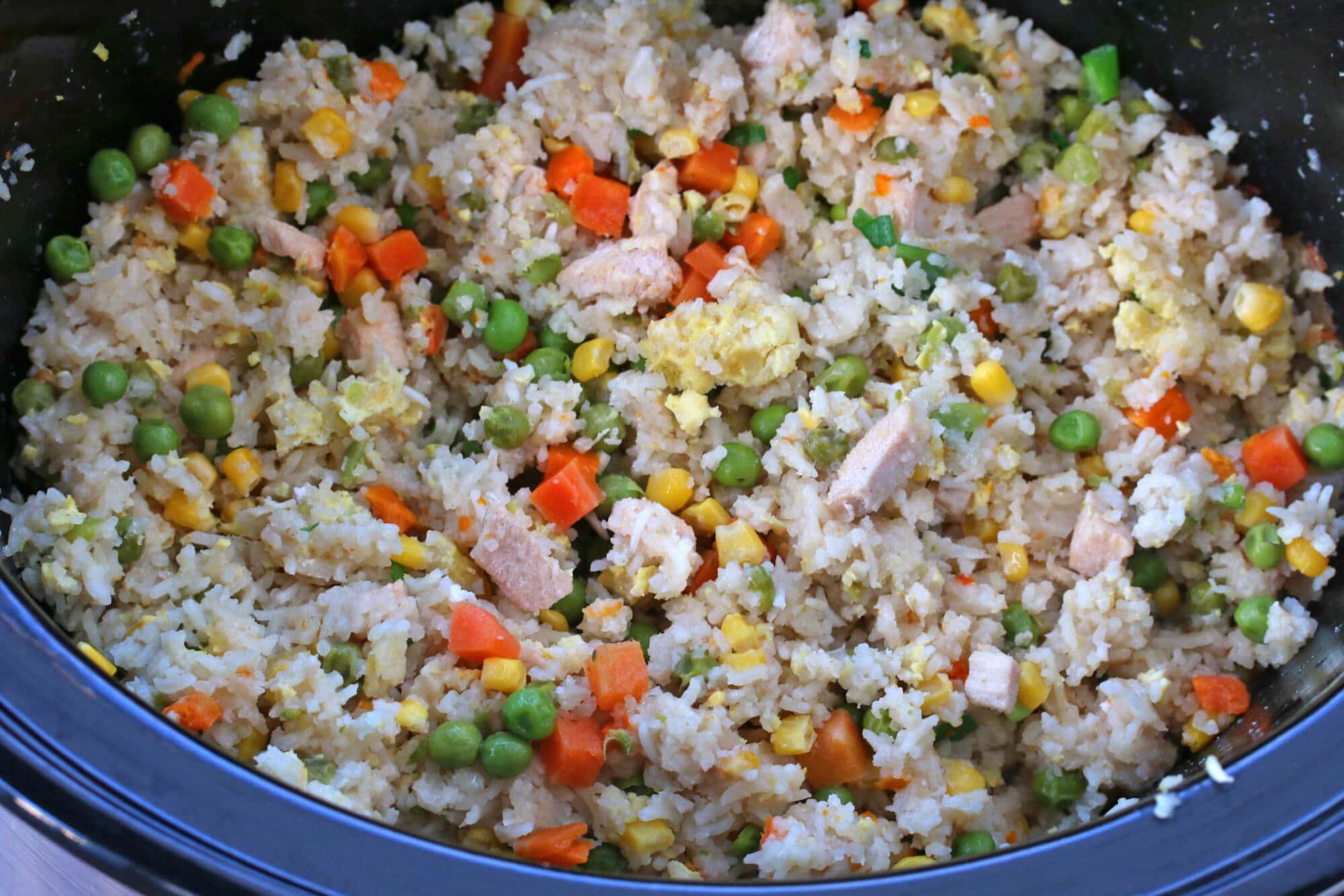 slow cooker fried rice recipe crock pot