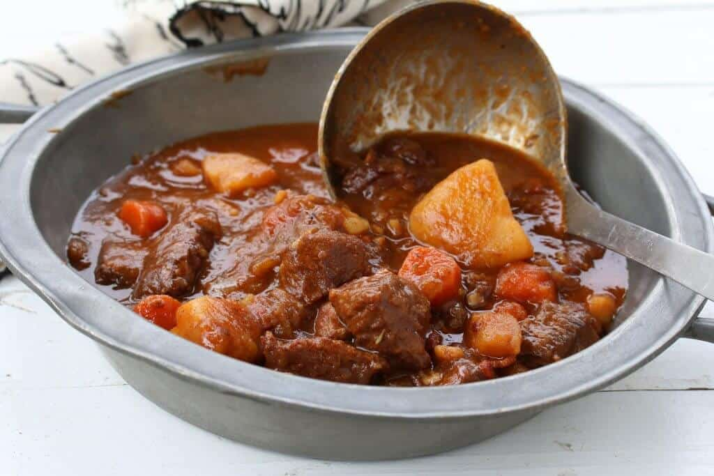 Traditional Irish Beef And Guinness Stew The Daring Gourmet