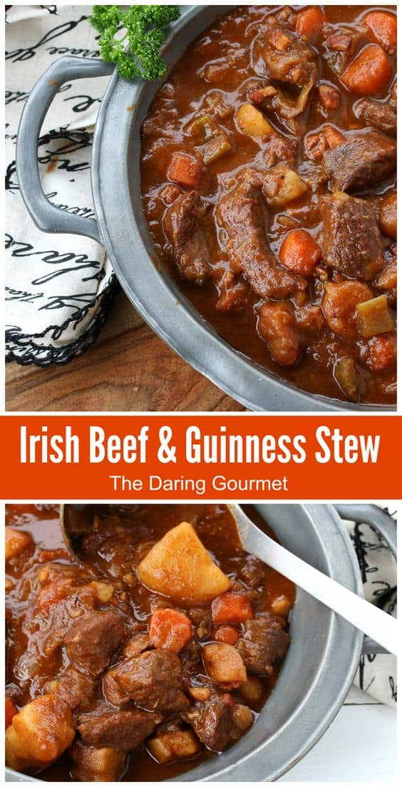 irish beef and guinness stew recipe