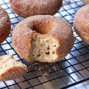 BEST Gluten Free Cinnamon Sugar Donuts