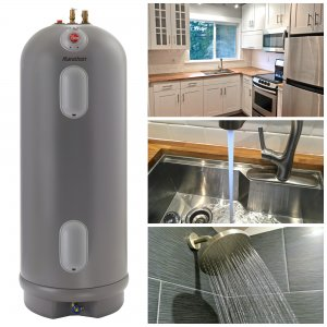 The Micro-Dwelling Project Part 9:  The Water Heater