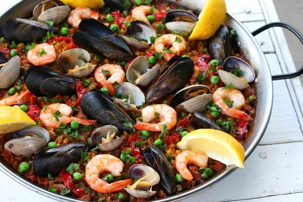 seafood paella recipe best easy