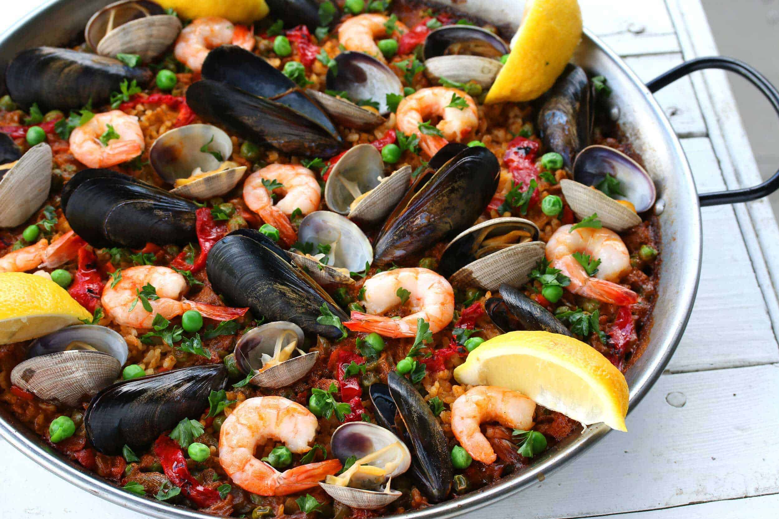 How to Cook Seafood Paella forecast