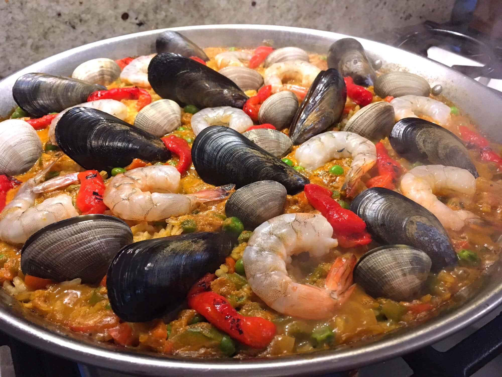 Top Seafood Paella (Paella de Marisco) - The Daring Gourmet XW01