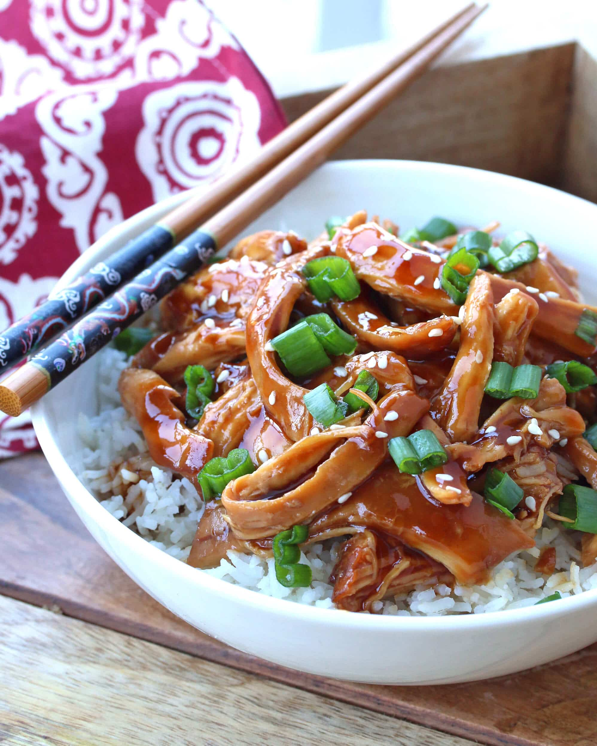 Best slow cooker teriyaki chicken the daring gourmet teriyaki chicken is something almost everyone loves that familiar combination of sweet and savory is a flavor practically anyone will enjoy this recipe is forumfinder Choice Image